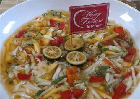 resep asinan buah serut oleh nancy firstiants kitchen