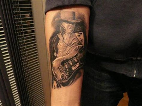 stevie ray vaughan tattoo stevie vaughan on my arm picture at