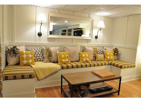 diy banquette seating eat here pinterest