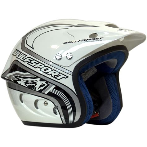 open motocross helmet wulfsport airflo trials open road bike motocross