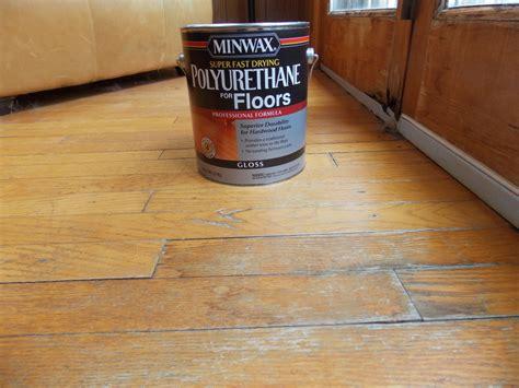 fast drying polyurethane for floors minwax