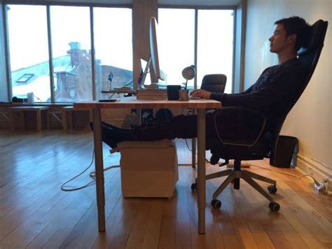 elevate leg at desk why i killed my standing desk and what i do instead