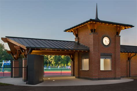 Home Building Plans pavilion at darien high school gesualdi construction