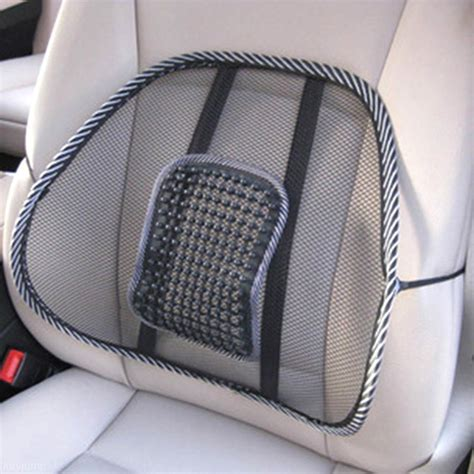 back support cushion for car seat car back seat mesh lumbar back brace support cool summer