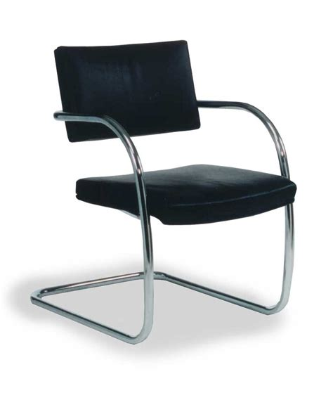 Simple Desk Chairs by Simple And Sleek Metal Leather Waiting Chairs Office