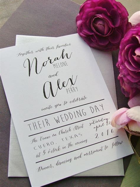 Top 10 Wedding Invitation Trends For 2017   Wedding