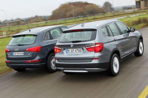 Audi Q5 Oder Bmw X3 by Suv Vergleich Der Neue Bmw X3 Trifft Auf Den Audi Q5