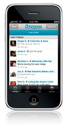 Hp Blackberry Jeplin add me on foursquare kristie manning