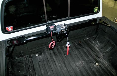 truck bed winch system 2004 ford f 250 toyloader install solo mission