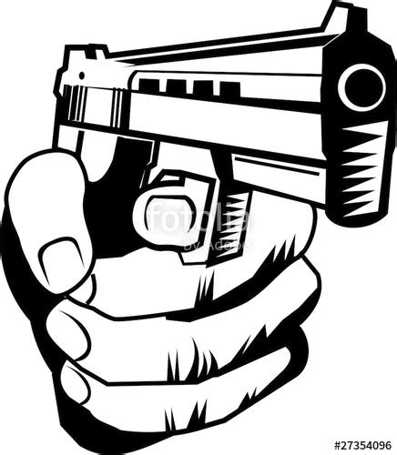 quot hand with pistol quot stock image and royalty free vector