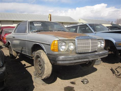 w123 coupe junkyard find mercedes w123 coupe the about cars