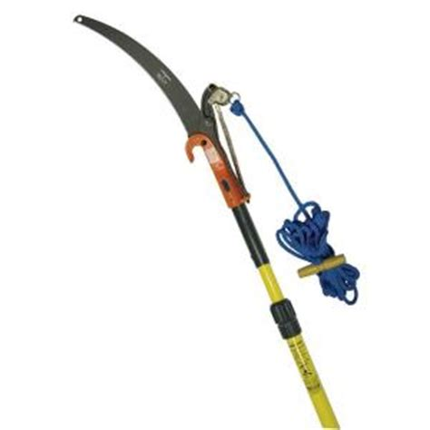 7 14 ft telescoping pole saw with center cut