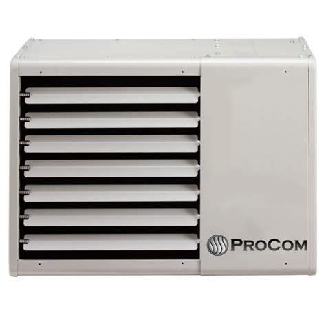 Garage Propane Heaters Ventless by Procom Vented Garage Heater 75 000 Btu T Stat