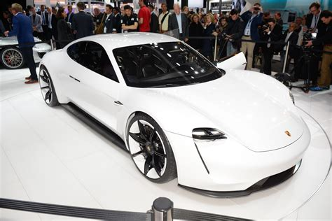 porsche electric mission e porsche s mission e electric concept revealed at frankfurt