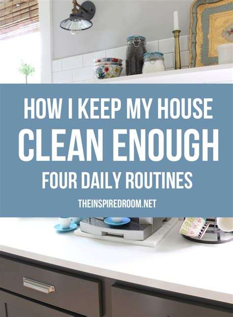 how to keep the house clean essay about your daily routine