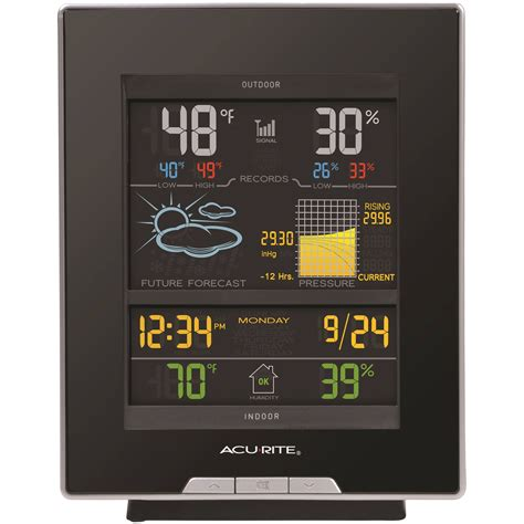 acurite color weather station acurite color weather station by chaney instruments at