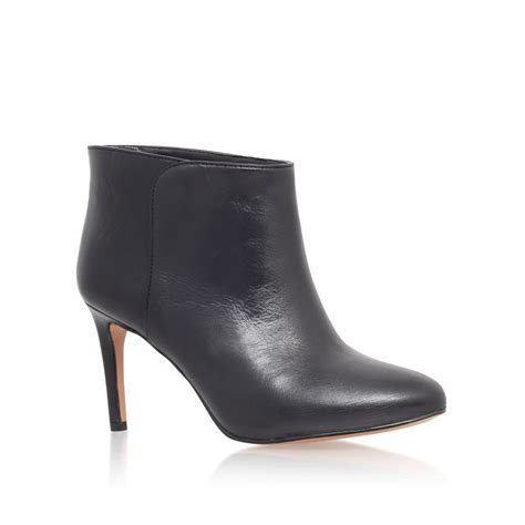 high heel boots black nine west valid high heel ankle boots in black lyst