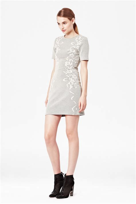 Ayi Dress jocelyn jacquard dress dresses connection usa