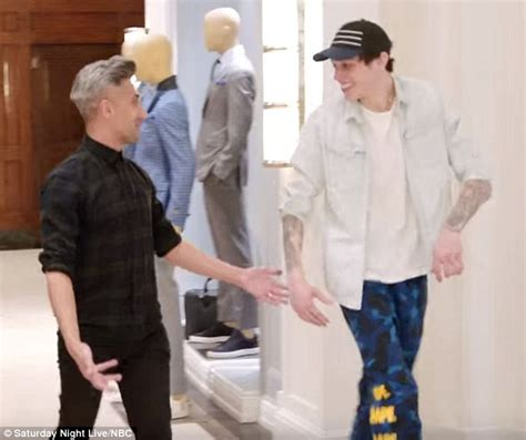 pete davidson house snl s pete davidson gets a makeover from queer eye s tan