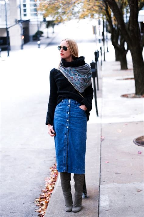 7 Favorite Winter Skirts by 20 Ways To Wear Your Favorite Midi Skirt This Winter