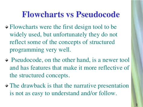 what is the difference between pseudocode and flowchart pseudocode flowcharts
