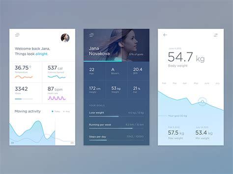 how does layout app work health app mobile by jakub antal 237 k dribbble
