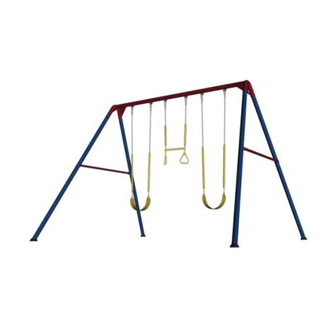 lifetime metal swing set lifetime heavy duty a frame metal swing set primary