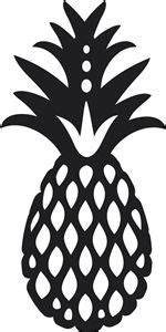 pineapple silhouette silhouette store silhouette and shape on