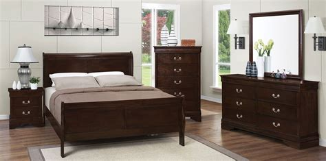 louis philippe sleigh bedroom set louis philippe rich cappuccino youth sleigh bedroom set