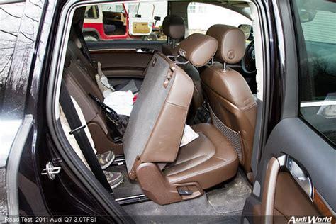 how many seats does the audi q7 2011 audi q7 3 0t road test audiworld