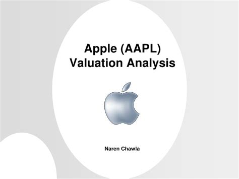 apple valuation apple aapl valuation using discounted cash flow dcf model