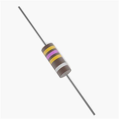arcol resistors arcol resistor 3d model 28 images carbon resistor 3d models axial 3d model for printing