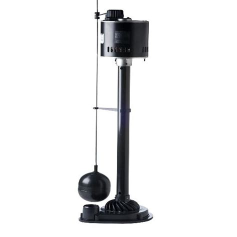 Lowes Pedestal Sump shop utilitech 0 33 hp thermoplastic pedestal sump at