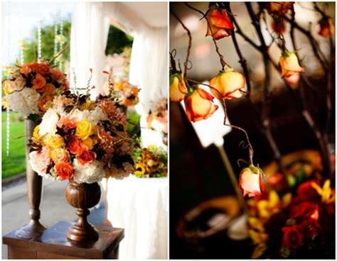 cheap fall wedding decorations special wednesday fall wedding flower ideas bridal