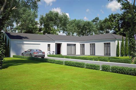 Architecte Salon De Provence by Villa Contemporaine 110 M2 Plain Pied Mod 232 Le Saphir