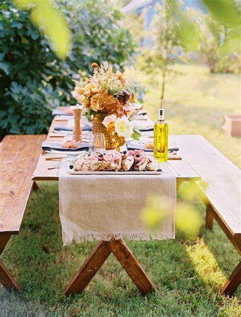 picnic style rehearsal dinner outdoor wedding reception pinterest