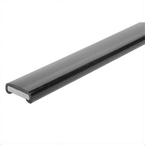 Plastic Handrail plastic handrail 40 x 8mm matt black 25mm roll forestmetals