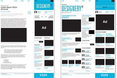 Grid Based Layout Web Design | designing grid layouts for the web design graphic