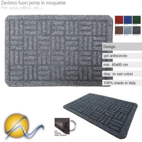 zerbino design zerbino in moquette made in italy design