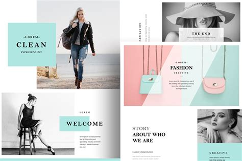 Fashion Powerpoint Presentation Template Free Pixelify Best Free Fonts Mockups Templates Fashion Slides Template