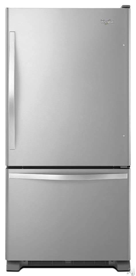 whirlpool gold refrigerator drawer replacement whirlpool wrb329dmb 185 cu ft bottomfreezer refrigerator