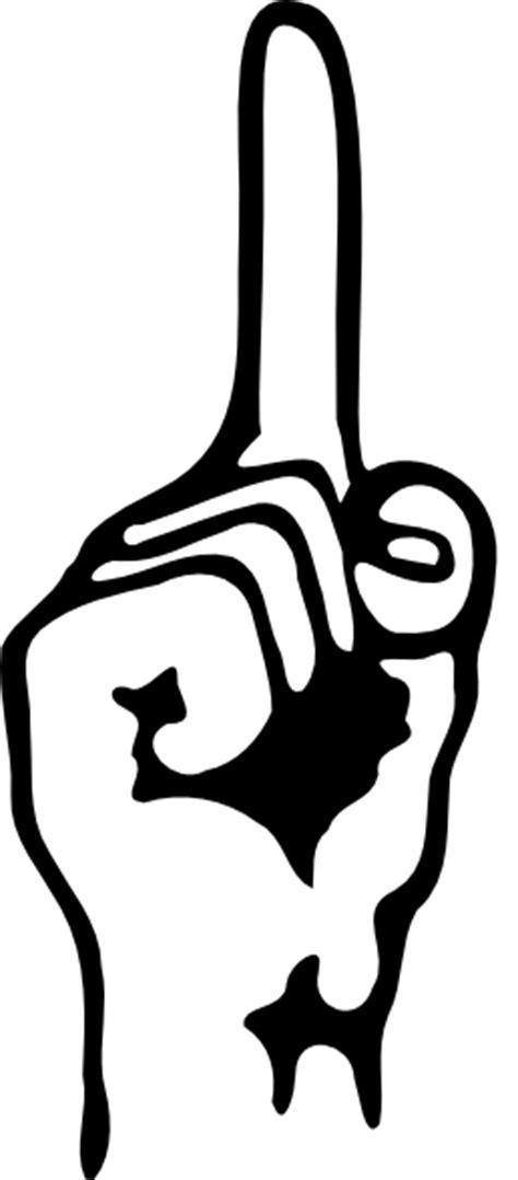 lukisan tato kalajengking telunjuk clip art at clker com vector clip art online