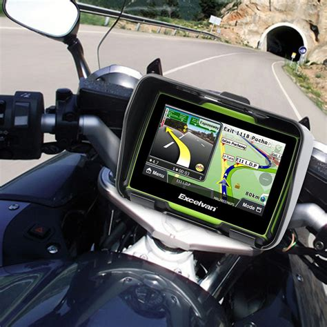 "8GB 4.3"" Motorcycle Car GPS SAT NAV Touch Screen"