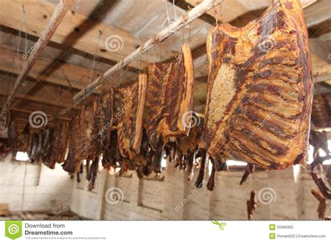 smoking in the house smoked meat bacon in a smoke house royalty free stock photo image 25996905