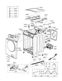 parts for samsung wf338aab xaa washer appliancepartspros