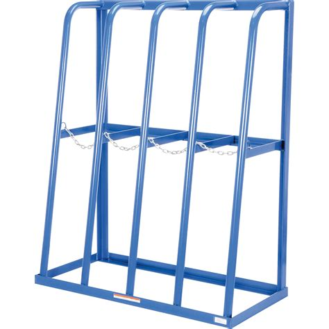 Storage Racks by Vestil Vertical Storage Rack 4 Bays 48 1 2in W X 24in D
