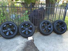 Ford Truck Tire And Wheel Packages 2014 F 150 Fx4 Appearance Package Wheels And Tires