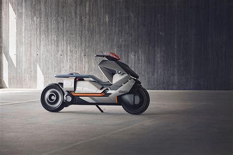 Villa D Este Bmw Motorrad by Bmw Motorrad Unveils Futuristic Concept Link Scooter At