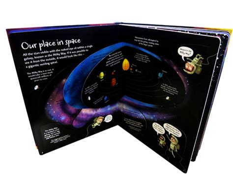 Usborne See Inside The Universe book of the month see inside the universe