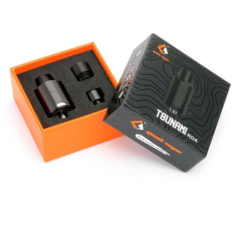 Sold Out Rda Tsunami 22mm Clone 11 authentic geekvape tsunami black rda rebuildable